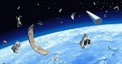 Le recyclage intergalactique des… débris spatiaux