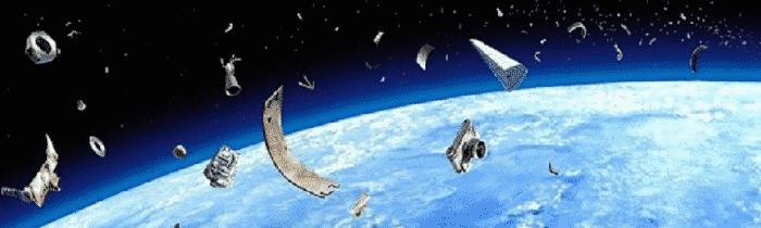 Recyclage des débris spatiaux