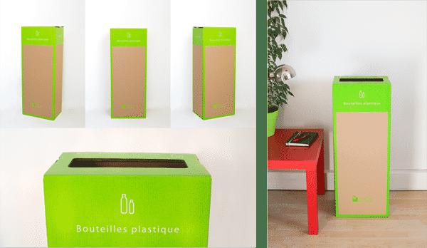 Page box - Recyclages des Bouteilles plastique