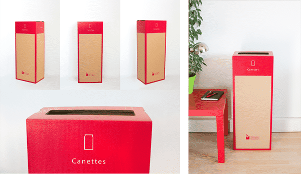 Page box - Recyclage des Canettes