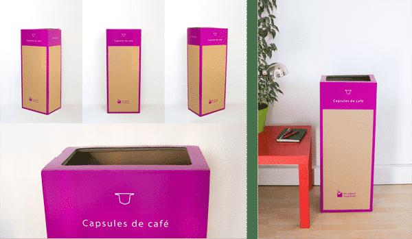Page box - Recyclage des Capsules de café en entreprise