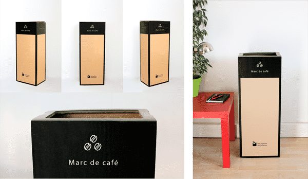 Page box - Recyclage du Marc de café en entreprise