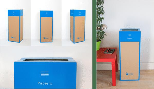 Page box - Recyclage des Papiers