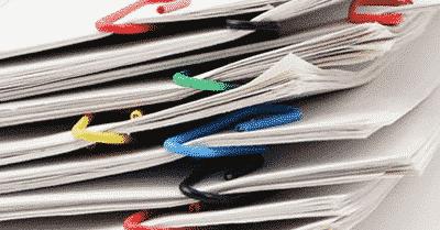 La consommation des papiers en entreprise