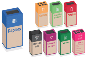 Joyeuses box de recyclage