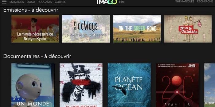 Idées vertes - Plateforme de streaming engagée