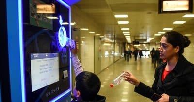 Amis parisiens, payez votre ticket de métro tout en recyclant !