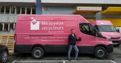 Virginie rejoint la grande équipe des joyeux recycleurs!