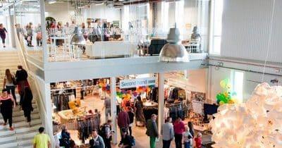 En Suède, un centre commercial totalement dédié au recyclage !