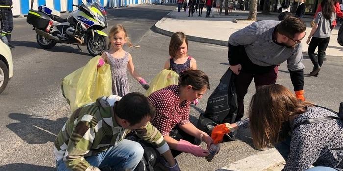 5 - Collecte citoyenne déchets non recyclés à Paris