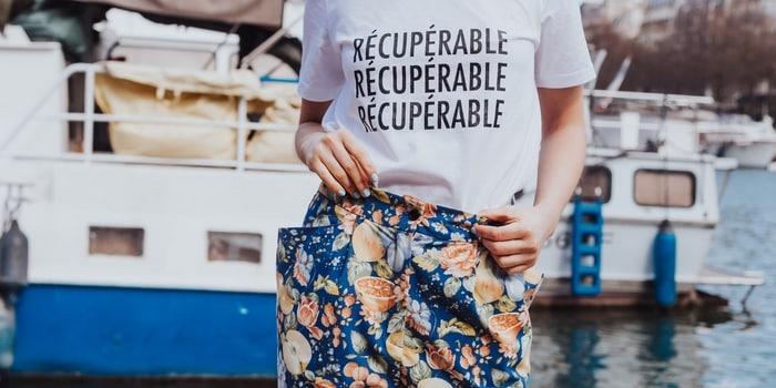 Recyclage à Paris - Déchets vêtements recyclé Printemps Paris