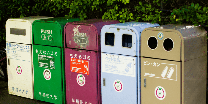Recyclage Japon - Innovation centre de tri restaurant 2