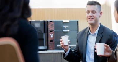 Recyclage en entreprise - déchet du café gobelet carton ou plastique 2