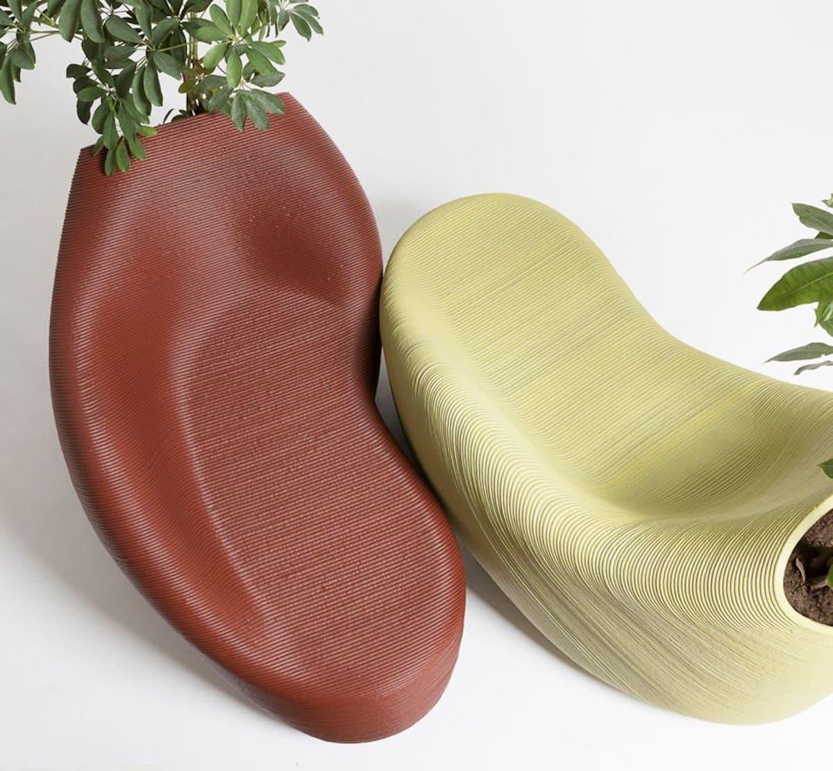 fauteuil de bureau déchet plastique