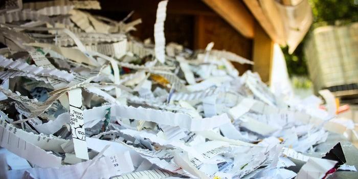Recyclage en entreprise - Recyclage des papiers confidentiels en entreprise