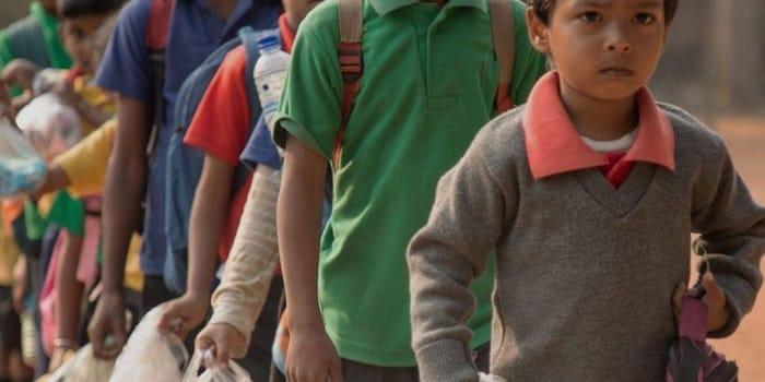 Idée Verte - recyclage plastique, éducation Inde 1