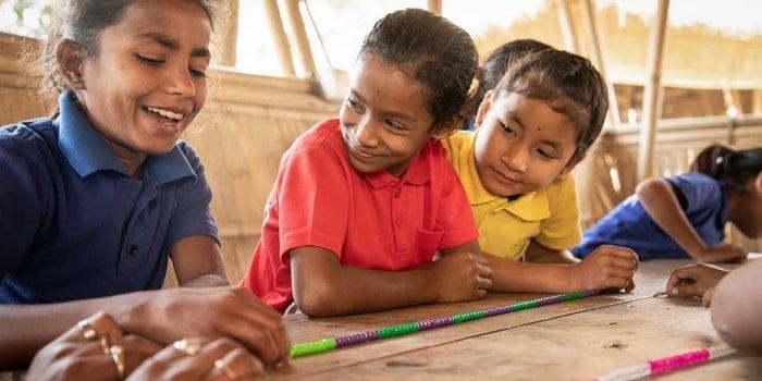 Idée Verte - recyclage plastique, éducation Inde 2