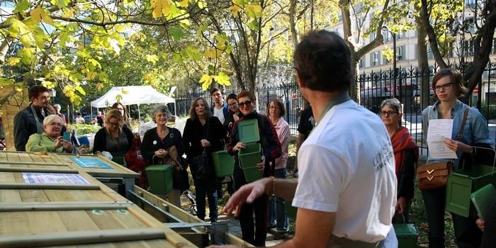Recyclage Paris - composteurs collectifs, bio déchets 2