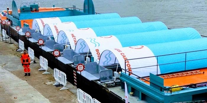 Recyclage Paris - le tri sélectif des déchets... même dans la Seine