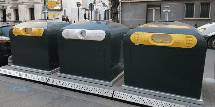 Conteneurs Trilib Paris Les Joyeux recycleurs