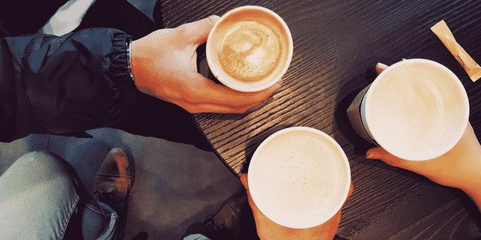 Recyclage pause café Les Joyeux Recycleurs