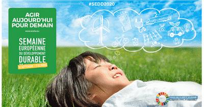 La Semaine Européenne du Développement Durable 2020 : tous mobilisés pour un futur durable