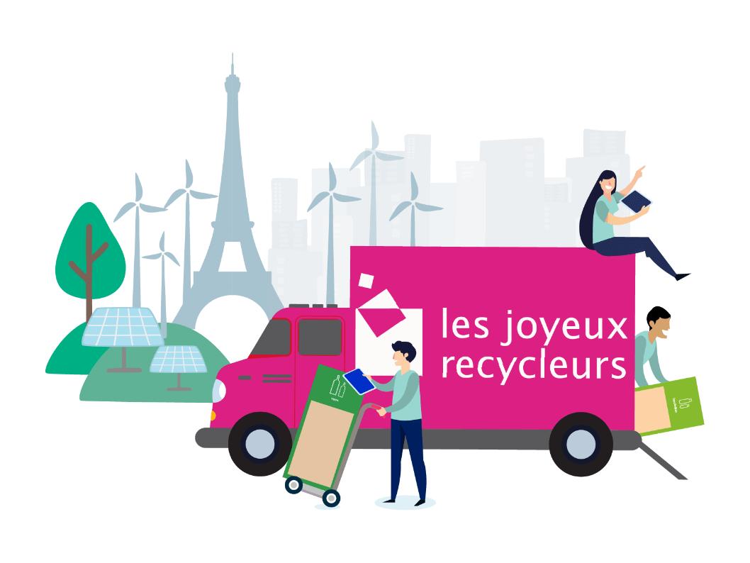 Les joyeux recycleurs paris