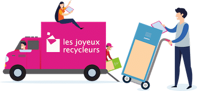 Les services des Joyeux Recycleurs