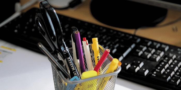stylos recyclage